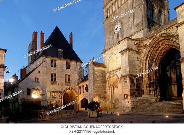 ancient Priory of La Charite-sur-Loire, Nievre department, Burgundy region, France, Europe