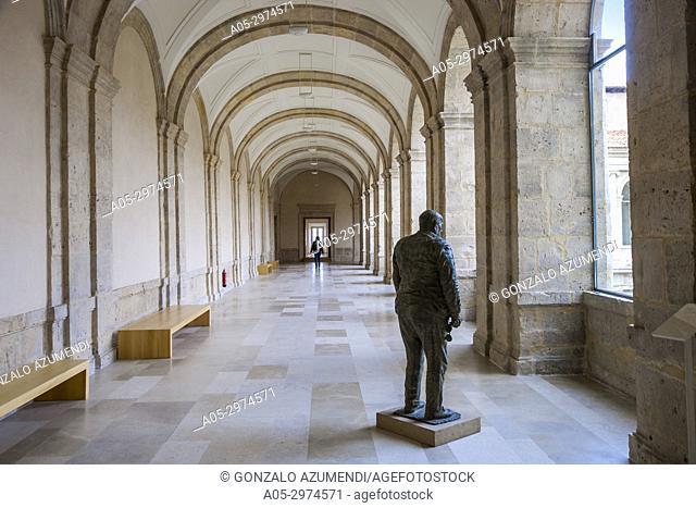 Patio Herreriano Museum, Museum of Contemporary Art, Valladolid, Castilla y Leon, Spain