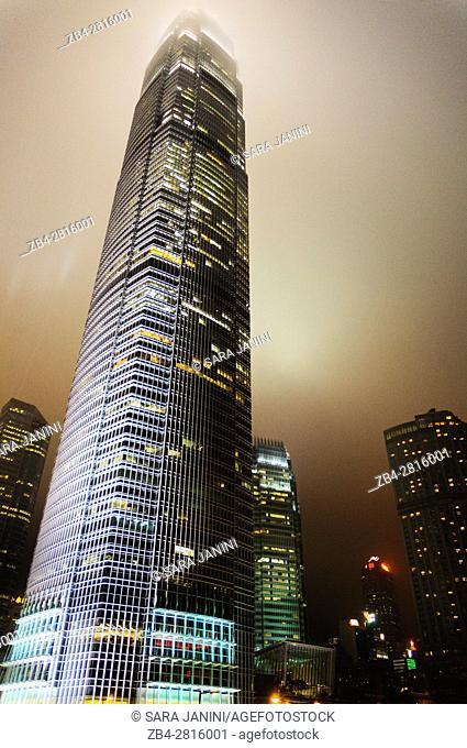 Financial city center, Hong Kong Island, Hong Kong, China, East Asia