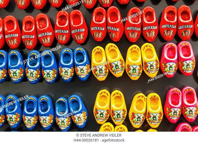 Europe, Netherlands, Amsterdam, Clog Shaped Souvenirs