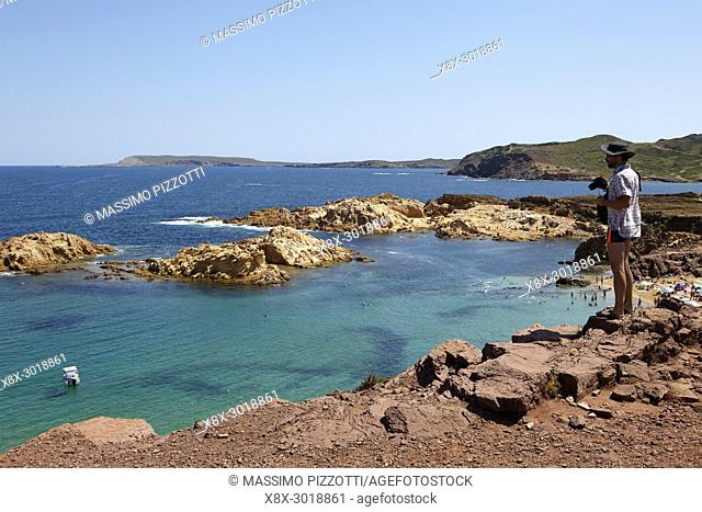 Cala Pregonda, Menorca,Balearic Islands, Spain