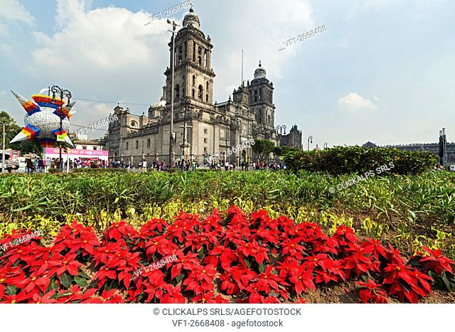 Metropolitan Cathedral, Costitution Place, Mexico City, Mexico