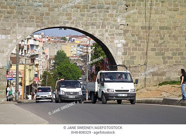 Turkey, Trabzon, Ortahisar, City walls