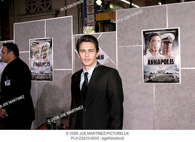 Annapolis (Premiere) James Franco 01-23-2006 / El Capitan Theater / Hollywood, CA / Touchstone Pictures / Photo by Joe Martinez