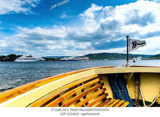 Fjord of Oslo, Norway, Europe