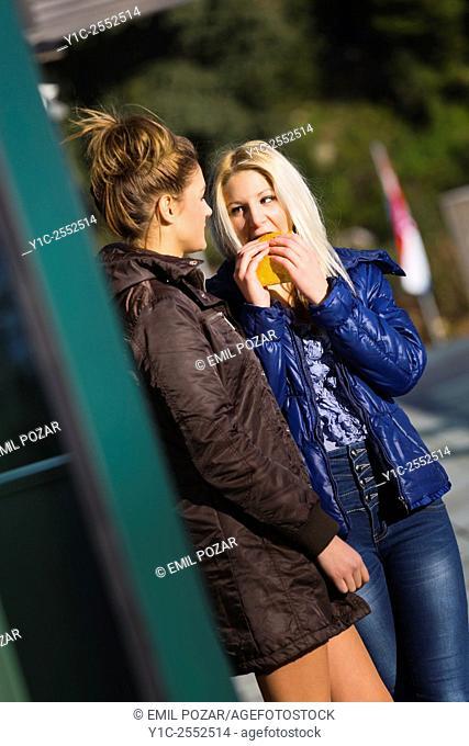 Girlfriends chat