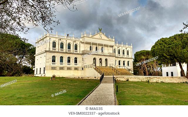 Palace of Acebron in Doñana National Park, Andalusia Spain
