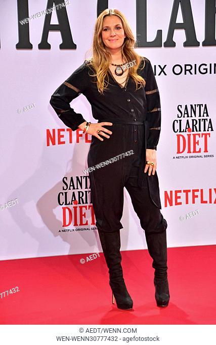 'Santa Clarita Diet' premiere at CineStar Featuring: Drew Barrymore Where: Berlin, Germany When: 20 Jan 2017 Credit: AEDT/WENN.com