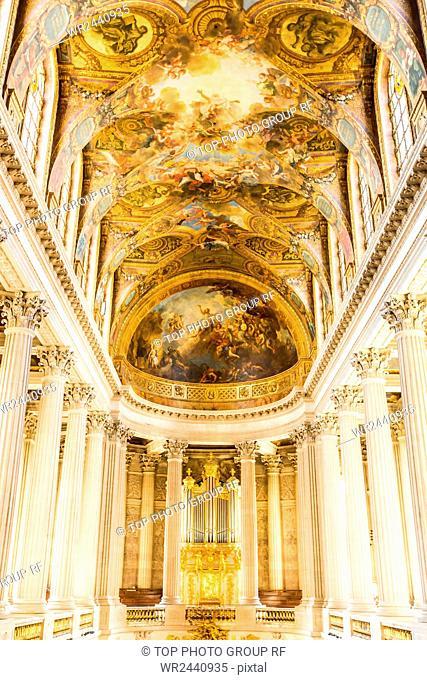 France;Paris;Versailles;indoors