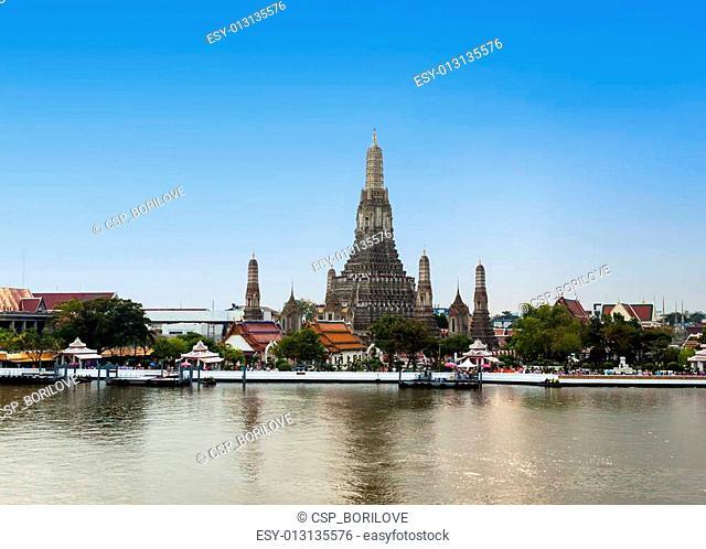 The Temple of Dawn Wat Arun in Bangkok, Thailand
