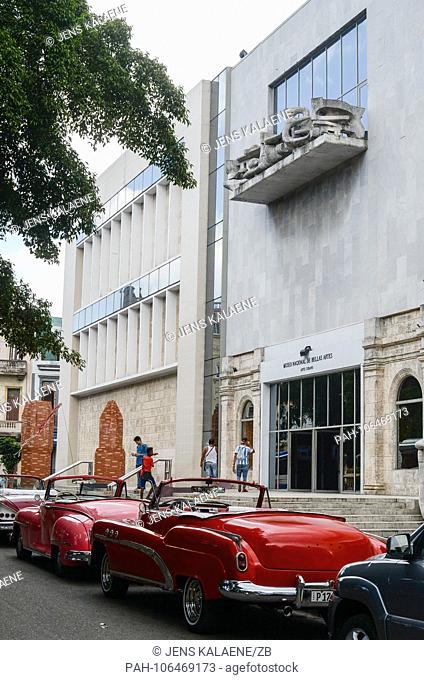 22.06.2018, Cuba, Havana: The Museo Nacional de Bellas Artes in the old town. In Havana is the largest surviving colonial city in Latin America
