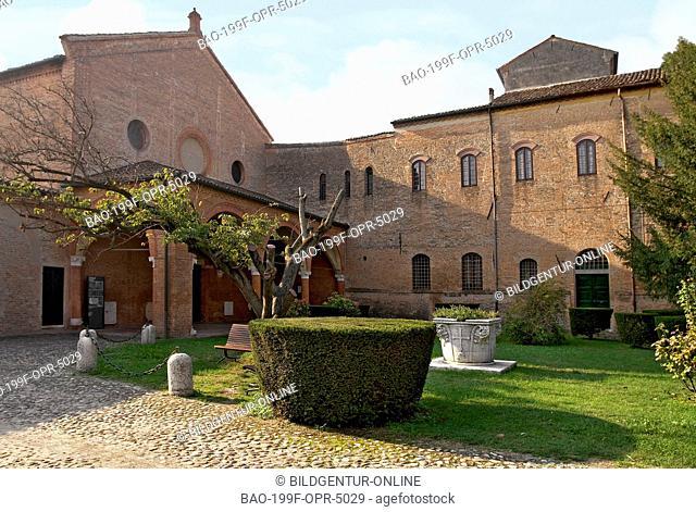 Image of the Monastero di Sant'Antonio in Polesine, Ferrara, Emilia-Romagna, Italy