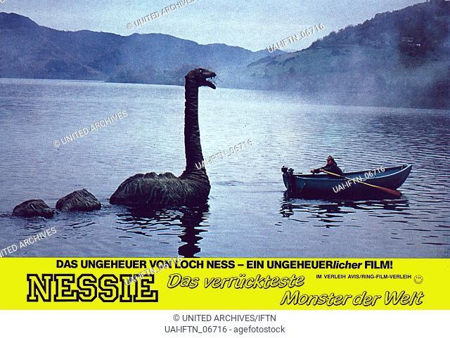 Nessie, das verrückteste Monster der Welt, aka: Der lustigste Dino der Welt, Deutschland 1985, Regie: Rudolf Zehetgruber, Szenenfoto