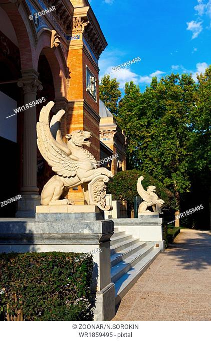 Palace at Retiro park - Madrid