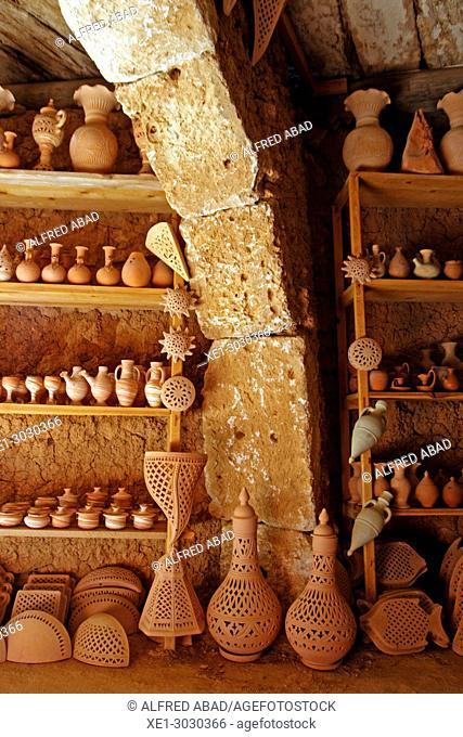factory and exhibition of ceramics, Djerba, Tunisia