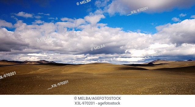 Moorudalur desert  Central Iceland