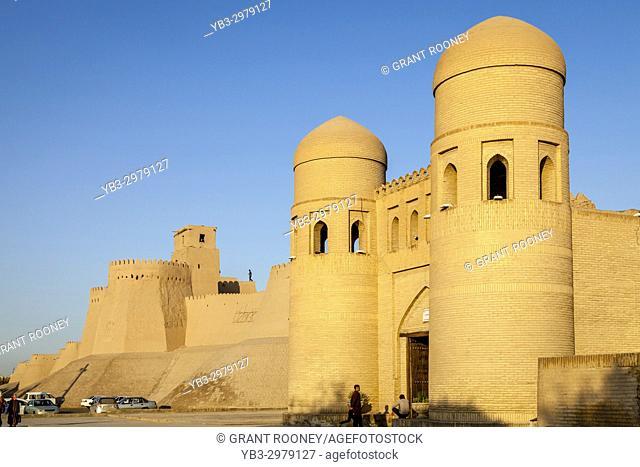 The Ata Darvoza Gate (West Gate), Old City Of Khiva, Uzbekistan