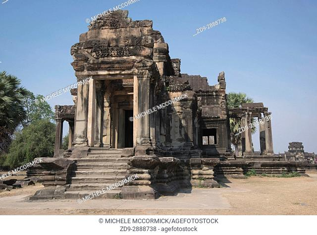 A temple within the vast temple complex at Angkor Wat