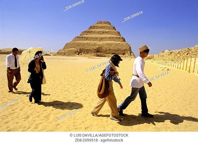 saqara ruins. egypt