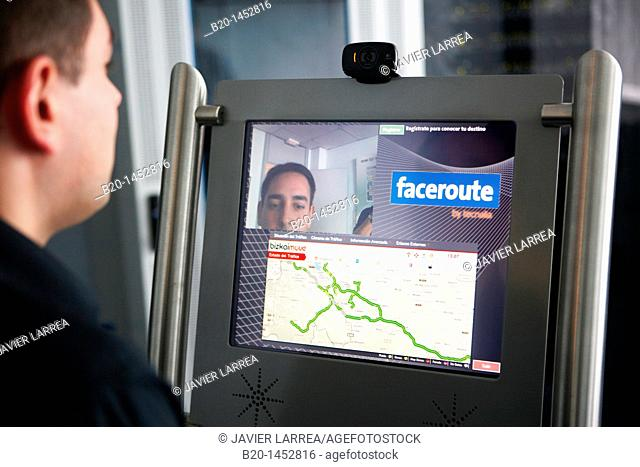 Faceroute project, on line personalized traffic flow information for registered users, Internet of Things lab, Tecnalia Research & Innovation, Zamudio, Bizkaia