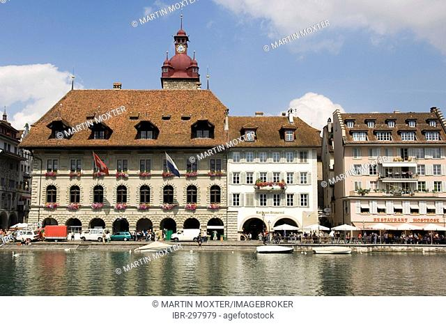 Town hall, Lucerne, Switzerland