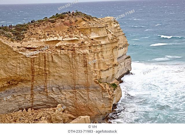 The Twelve Apostles Marine National Park, Port Campbell, Great Ocean Road, South-west coast of Victoria, Australia