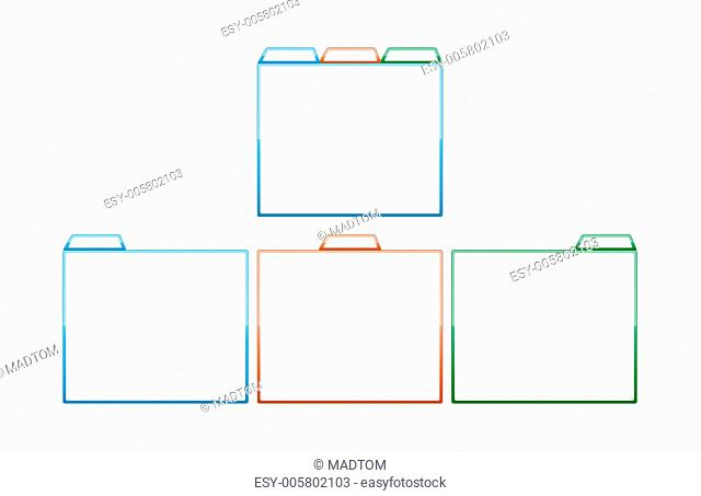 glossy color template