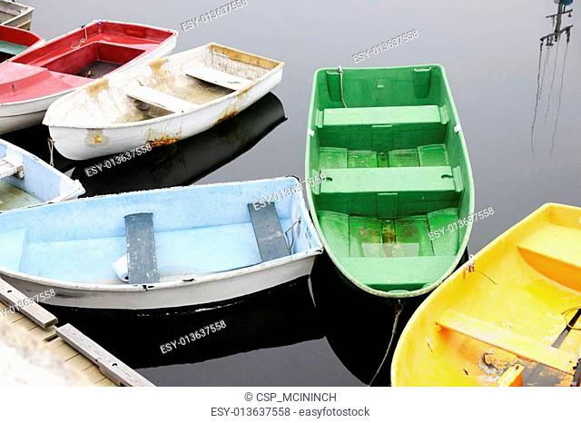 Colorful Old Boats