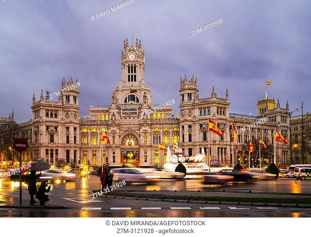 Ayuntamiento. Madrid, Spain