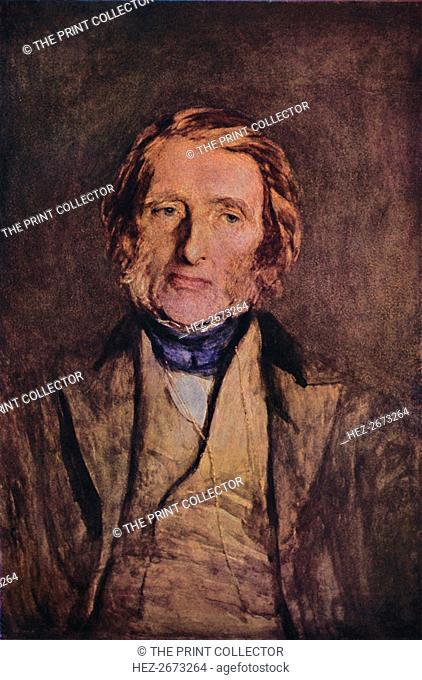 'John Ruskin 1819-1900', 1879, (1947). Artist: Hubert von Herkomer