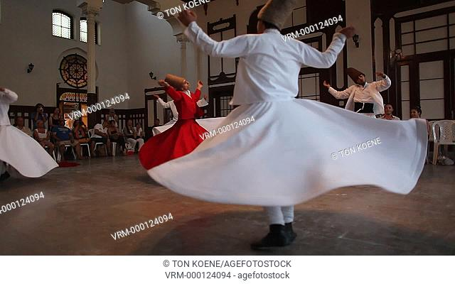 Dance by Dervishes, istanbul