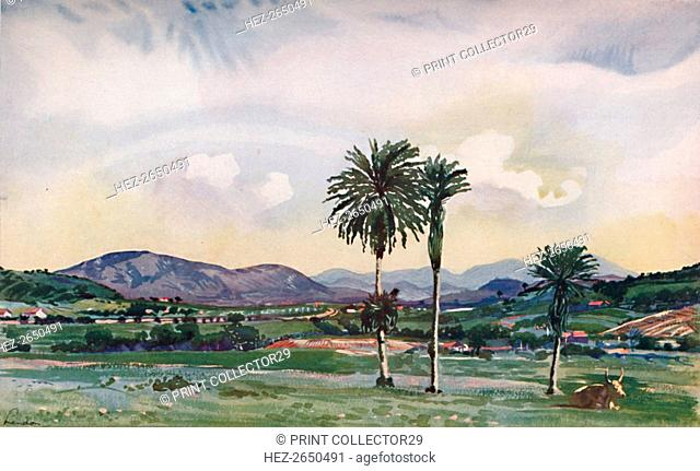 'A bit of Rio's North-Western Suburbs, along the route of the Central Railway', 1914. Artist: Unknown