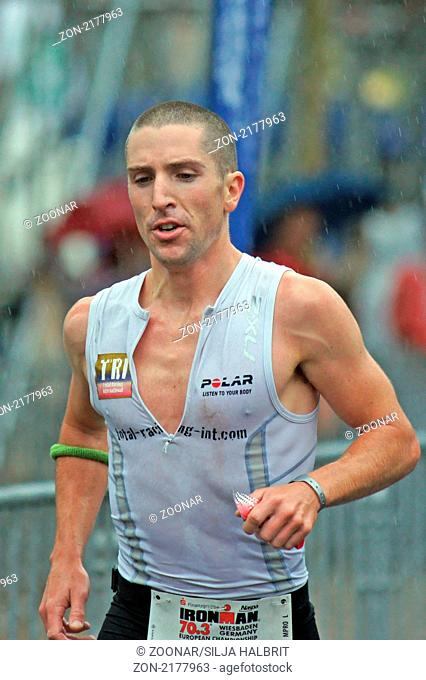 Toby Jameson - IRONMAN Germany 70.3 in Wiesbaden am 15.08.2010