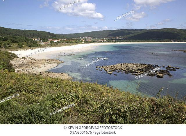 Langosteira Beach; Finisterre; Costa de la Muerte; Galicia; Spain