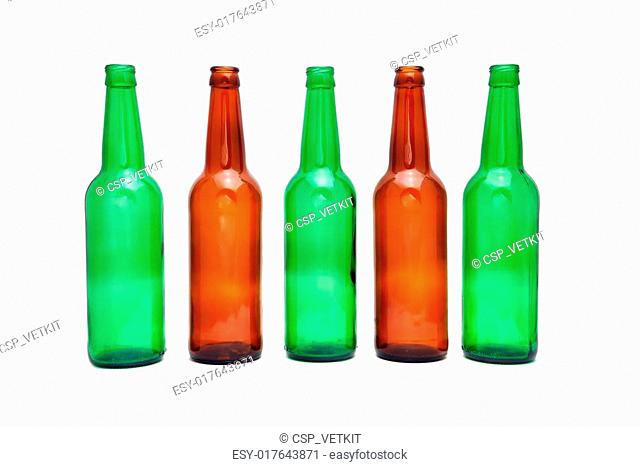 Clear beer bottle Stock Photos and Images | age fotostock