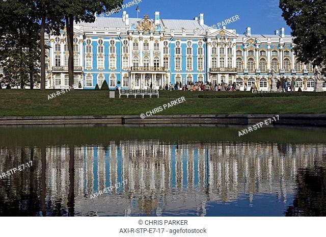 Pushkin. St Petersburg. Russia