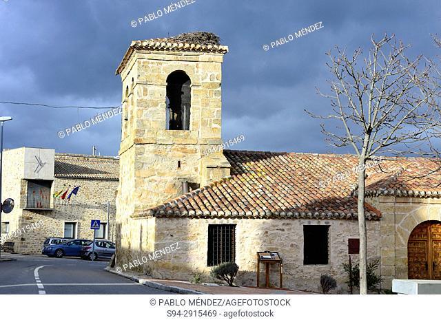Church of San Simon in Piñuecar, Madrid, Spain