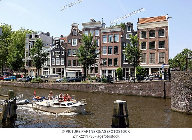 Boattrip in Amsterdam through the canals