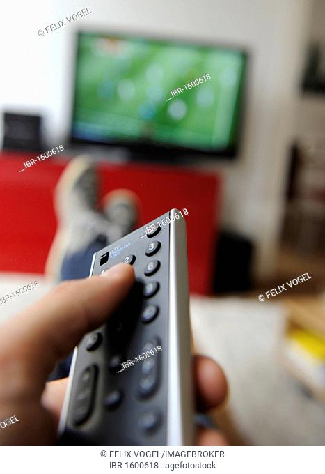 Football World Cup on television