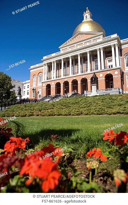 Massachusetts State House, Boston, Massachusetts, USA