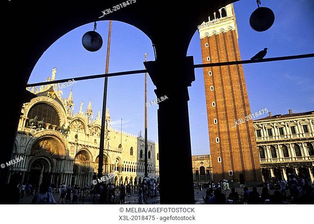 Square piazza San Marco, Venice, Veneto, Italy