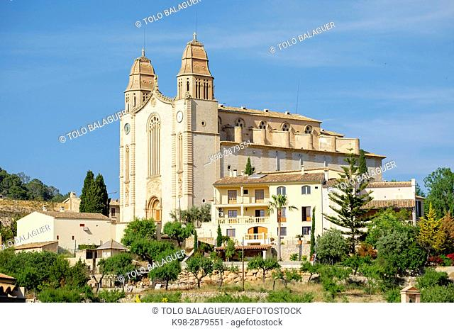 Iglesia de San Juan Bautista, 1248, Calviá, Mallorca, balearic islands, spain, europe