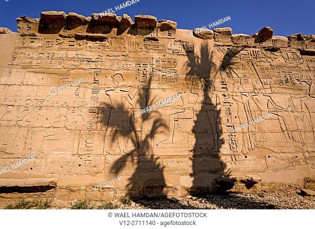 Amun-Re Temple, complex of temples at Karnak, Luxor, Upper Egypt