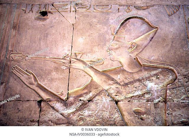 Seti I temple 13th century BC, Abydos, Egypt