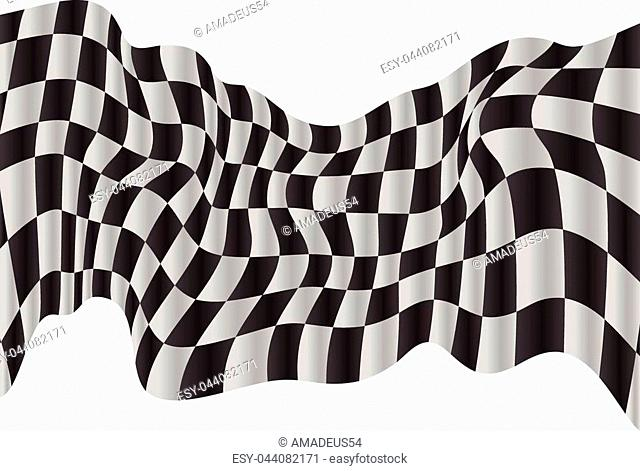 racing flag background checkered flag wawing design