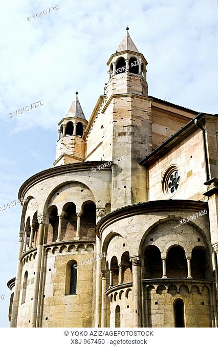 Cathedral, Piazza Grande, Modena, Italy