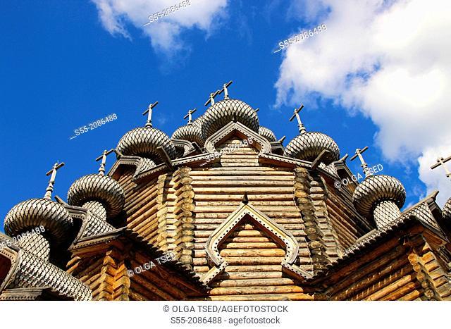 Pokrov Church, Nevskiy Lesopark, Saint Petersburg, Russia