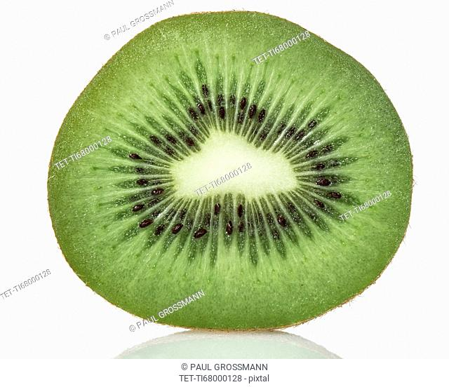 Cross section of kiwi