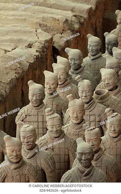 Terra Cotta Warriors in Xi'an