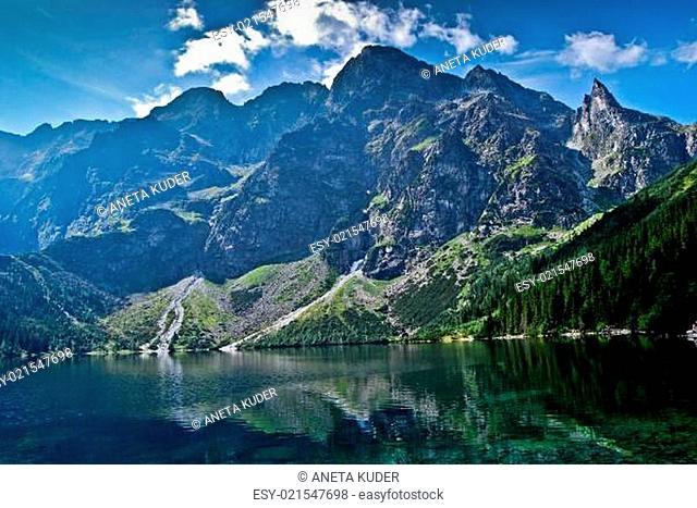 SEA EYE Tatra LAKE FOREST ROCKS